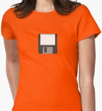 "Floppy Disc 3.5"" Womens Fitted T-Shirt"