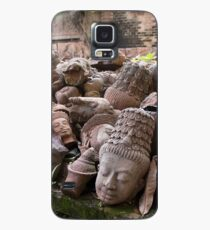 Lost Heads in the Terracotta Museum in Chiang Mai Case/Skin for Samsung Galaxy