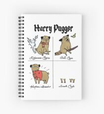 Harry Pugger Spiral Notebook
