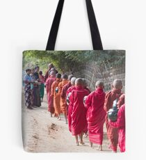 Each Morning Food Donation Ceremony in Myanmar Tote Bag