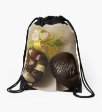 EASTER EGG ...open Drawstring Bag
