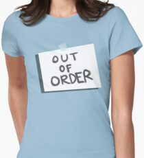 Out of Order Women's Fitted T-Shirt