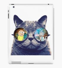 Rick and Morty Cat iPad Case/Skin