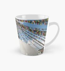 Stupa and Prayer flags Tall Mug