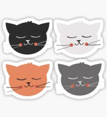 Cat Madness Sticker