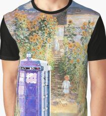 The Doctor in Monet's Garden Graphic T-Shirt