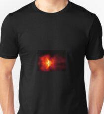 fire over water Unisex T-Shirt