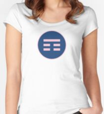 I Ching Mountain Trigram ( Gen ) Women's Fitted Scoop T-Shirt