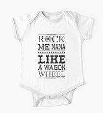Wagon Wheel Funny Kids Clothes