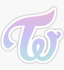 TWICE - GRADIENT LOGO Sticker