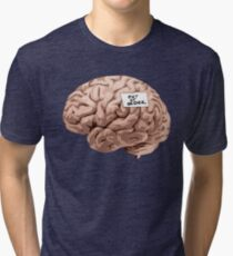 Out of Order Brain Tri-blend T-Shirt