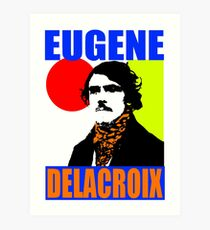 Eugène Delacroix (Colour) Art Print