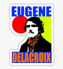 Eugène Delacroix (Colour) Sticker