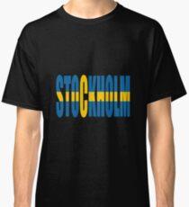 Stockholm. Classic T-Shirt