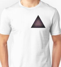 Tetractys - 90 Circle - Diamond Unisex T-Shirt