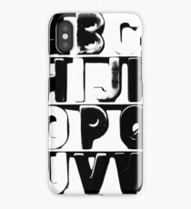 There In Black and White iPhone Case