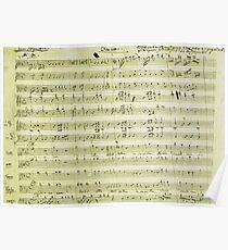 Dies Irae Mozart Poster