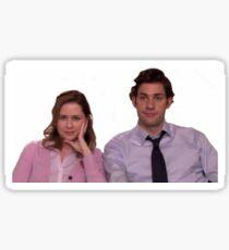 The Office- Jim & Pam Sticker
