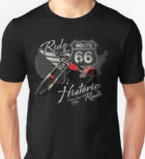 Travel - Motorcycle Ride the historic route 66 Unisex T-Shirt