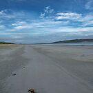 luskentyre beach by paolo amiotti