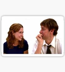 The Office- Jim and Pam Sticker