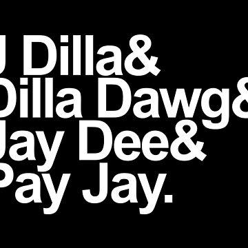 J Dilla - Won't Do Print by AntoinetteAdams
