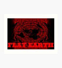 FLAT EARTH TREATY Art Print