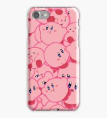 Kirby Pattern Vectored iPhone Case/Skin