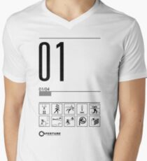 Level 01 Men's V-Neck T-Shirt