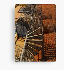 Winding Stairs Canvas Print