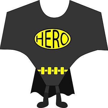 Super Hero T-shirt by AjHound