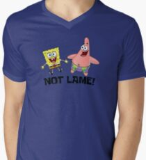 Not Lame! - Spongebob Men's V-Neck T-Shirt