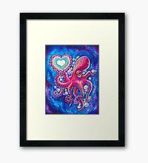 Octo Love Framed Print