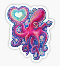 Octo Love Sticker