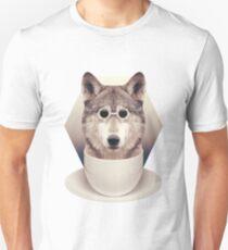 Caffeinimals: Wolf Unisex T-Shirt