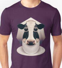 Caffeinimals: Cow Unisex T-Shirt