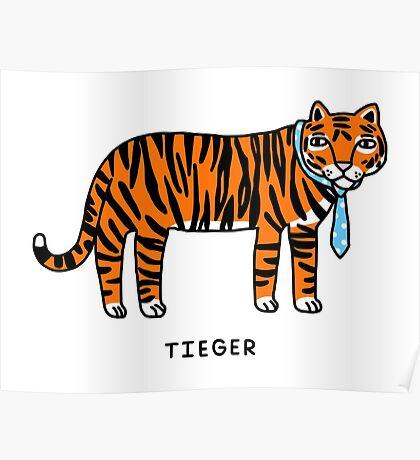 Tieger Poster