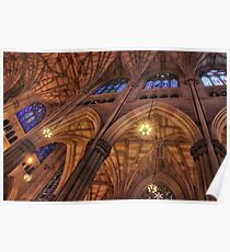 Gothic Ceiling Poster