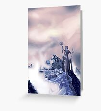 azura painting Greeting Card