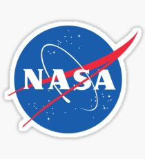 NASA Logo - Space Tumblr Sticker