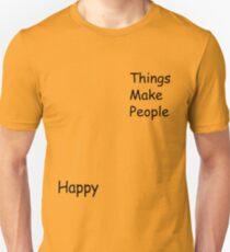 Chihayafuru - Things make people happy shirt T-Shirt