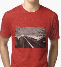 Metro abstraction Tri-blend T-Shirt