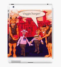 Giants Like Veggie Burgers iPad Case/Skin