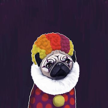 pug by cheddiewong