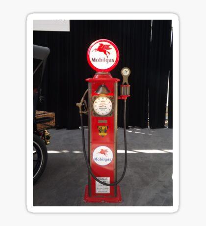 Vintage Gas Pump, New York City Sticker