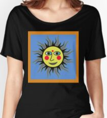 SUNNY LISA SMILES Women's Relaxed Fit T-Shirt