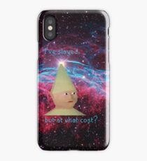 Gnome Child has slayed.. iPhone Case/Skin