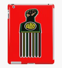 BLACK FIST, BLACK PRIDE iPad Case/Skin