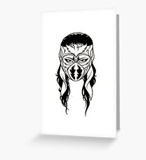 Hayabusa! Greeting Card