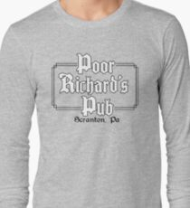 Poor Richard's Pub Long Sleeve T-Shirt